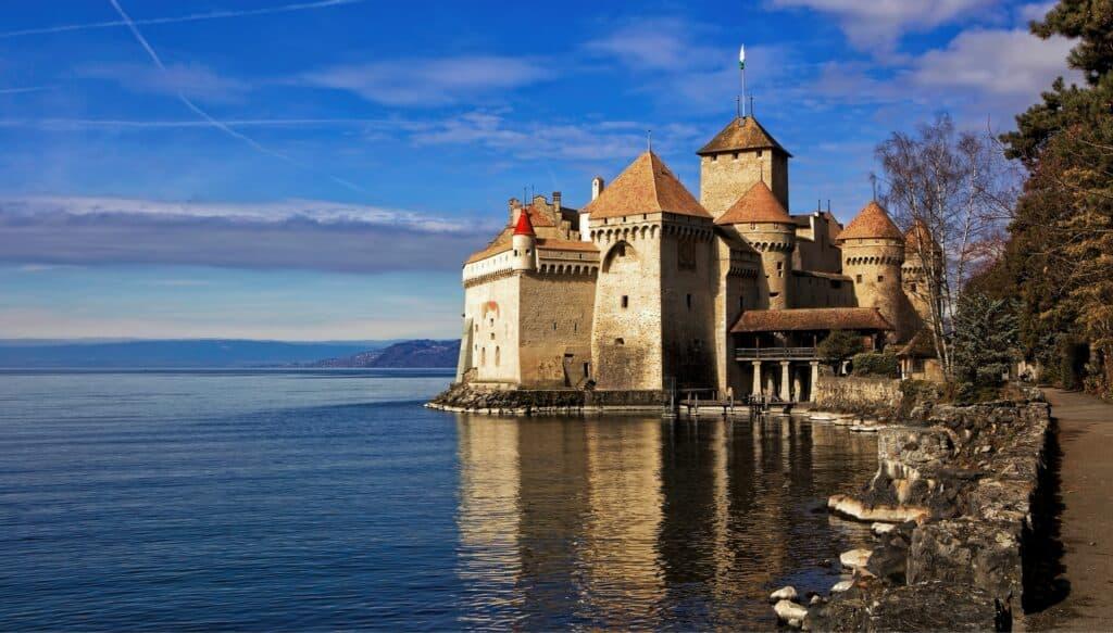 Le majestueux Château de Chillon